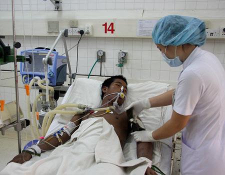 Bệnh nhân bị sốt rét