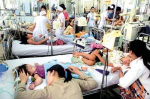 Hàng ngàn trẻ em chết vì sốt xuất huyết mỗi năm