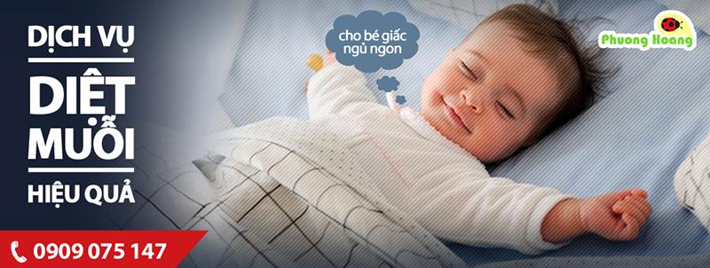Làn da em bé, đặc biệt trẻ sơ sinh vô cùng nhạy cảm với các loại côn trùng.